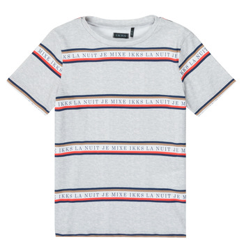 Textiel Jongens T-shirts korte mouwen Ikks XR10003 Grijs