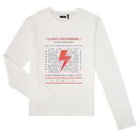 Textiel Jongens T-shirts met lange mouwen Ikks XR10023 Wit