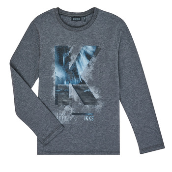 Textiel Jongens T-shirts met lange mouwen Ikks XR10203 Grijs