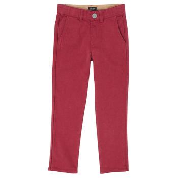 Textiel Jongens 5 zakken broeken Ikks XR22093 Rood