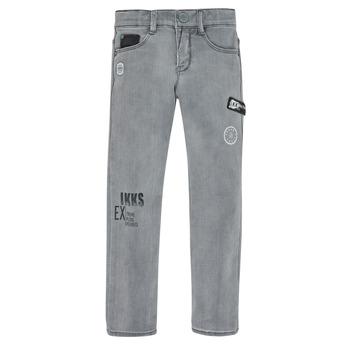 Textiel Jongens Skinny jeans Ikks XR29123 Grijs