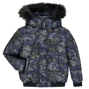 Textiel Jongens Dons gevoerde jassen Ikks XR41133 Blauw