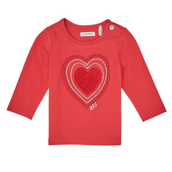 Textiel Meisjes T-shirts met lange mouwen Ikks XR10010 Orange