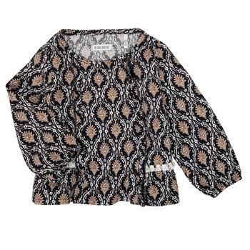 Textiel Meisjes Overhemden Ikks XR12020 Zwart