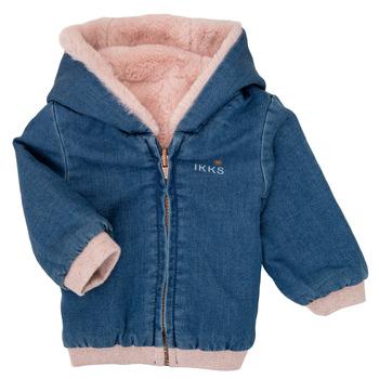 Textiel Meisjes Wind jackets Ikks XR40020 Blauw