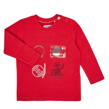 Textiel Jongens T-shirts met lange mouwen Ikks XR10011 Rood