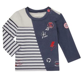 Textiel Jongens T-shirts met lange mouwen Ikks XR10041 Wit