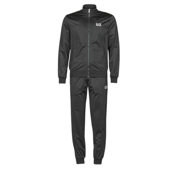 Textiel Heren Trainingspakken Emporio Armani EA7 TRAIN CORE ID M T-SUIT TT FZ CH PL Zwart
