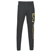 Textiel Heren Trainingsbroeken Emporio Armani EA7 TRAIN LOGO SERIES M PANTS Zwart