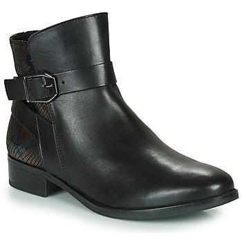 Schoenen Dames Laarzen Caprice 25331-045 Zwart