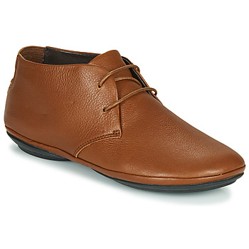 Schoenen Dames Derby Camper RIGHT NINA  camel