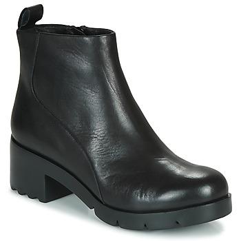 Schoenen Dames Enkellaarzen Camper WND0 Zwart
