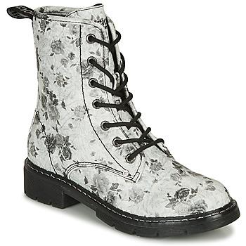 Schoenen Dames Laarzen Dockers by Gerli 45PN201 Wit