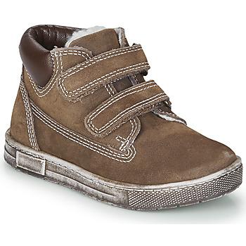 Schoenen Jongens Hoge sneakers Chicco CLAY Brown