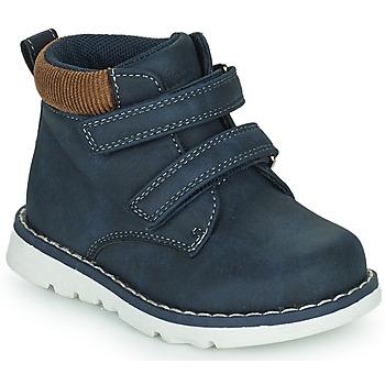 Schoenen Jongens Hoge sneakers Chicco FLOK Blauw