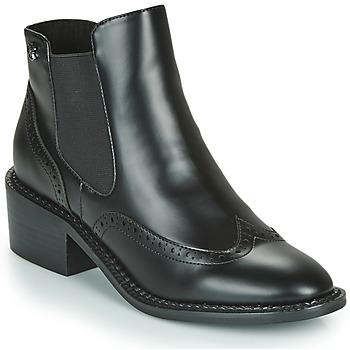 Schoenen Dames Enkellaarzen Chattawak MODESTO Zwart
