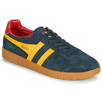 Schoenen Heren Lage sneakers Gola HURRICANE Marine / Geel