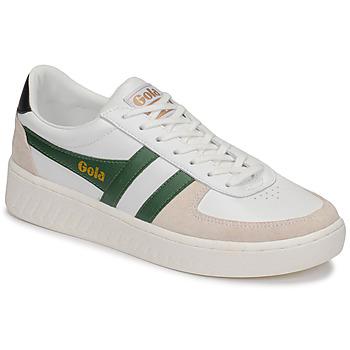 Schoenen Heren Lage sneakers Gola GRANDSLAM CLASSIC Wit / Groen