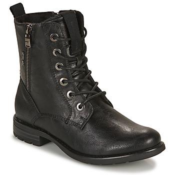 Schoenen Dames Laarzen Tom Tailor 93303-NOIR Zwart