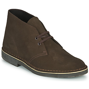 Schoenen Heren Laarzen Clarks DESERT BOOT 2 Brown
