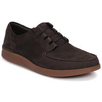 Schoenen Heren Derby Clarks OAKLAND WALK Brown