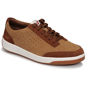 Schoenen Heren Lage sneakers Clarks HERO AIR LACE  camel