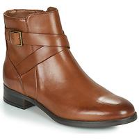 Schoenen Dames Laarzen Clarks HAMBLE BUCKLE Brown
