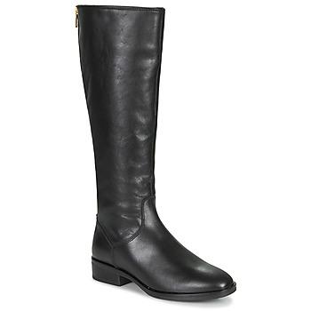 Schoenen Dames Hoge laarzen Clarks PURE RIDE Zwart