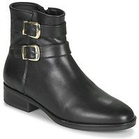 Schoenen Dames Laarzen Clarks PURE MID Zwart