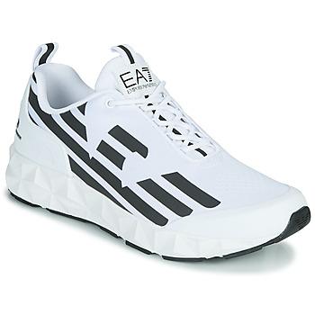 Schoenen Heren Lage sneakers Emporio Armani EA7 XCC52 Wit / Zwart