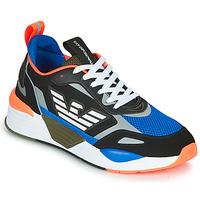 Schoenen Heren Lage sneakers Emporio Armani EA7 XK165 Zwart / Blauw / Orange