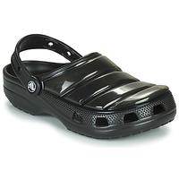 Schoenen Klompen Crocs CLASSIC NEO PUFF CLOG Zwart