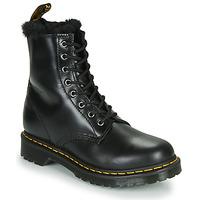 Schoenen Dames Laarzen Dr Martens 1460 SERENA Zwart