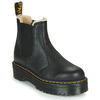 Schoenen Dames Laarzen Dr Martens 2976 QUAD FL Zwart