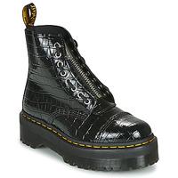 Schoenen Dames Laarzen Dr Martens SINCLAIR Zwart / Croc