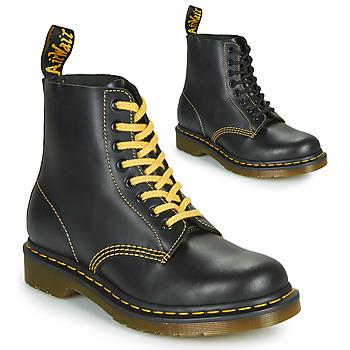 Schoenen Heren Laarzen Dr Martens 1460 PASCAL ATLAS Zwart