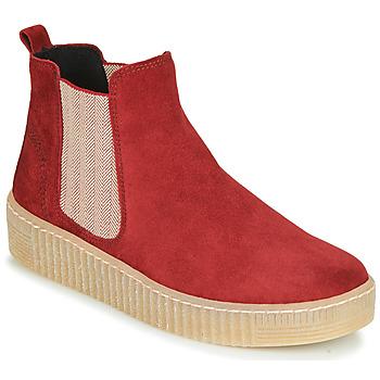 Schoenen Dames Laarzen Gabor 5373118 Rood