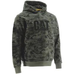 Textiel Heren Sweaters / Sweatshirts Caterpillar Hooded Nacht Camo