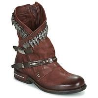 Schoenen Dames Laarzen Airstep / A.S.98 TIAL FOGLIE Brown
