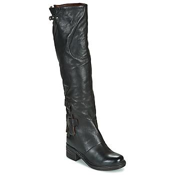 Schoenen Dames Hoge laarzen Airstep / A.S.98 NOVA 17 HIGH Zwart