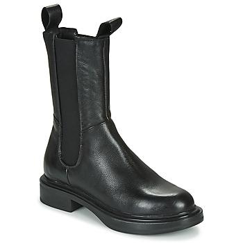 Schoenen Dames Laarzen Mjus MORGANA CHELS Zwart