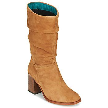 Schoenen Dames Hoge laarzen Mjus TUA Beige
