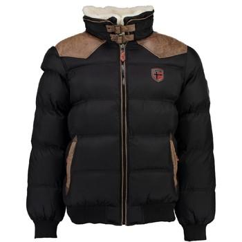 Textiel Jongens Dons gevoerde jassen Geographical Norway ABRAMOVITCH BOY Zwart