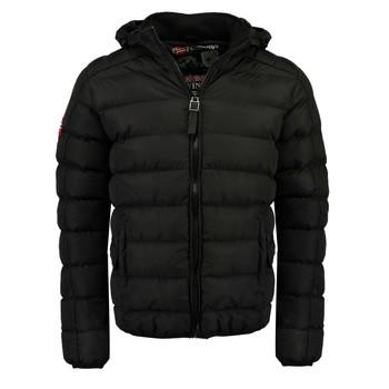 Textiel Jongens Dons gevoerde jassen Geographical Norway BOMBE BOY Zwart
