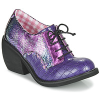 Schoenen Dames Derby Irregular Choice TIPPLE Violet