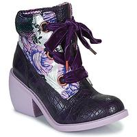 Schoenen Dames Laarzen Irregular Choice SCARPER Violet