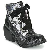 Schoenen Dames Laarzen Irregular Choice SCARPER Zwart