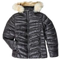 Textiel Meisjes Dons gevoerde jassen Kaporal MADO Zwart