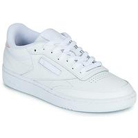 Schoenen Dames Lage sneakers Reebok Classic CLUB C 85 Wit / Iridescent