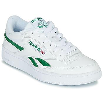 Schoenen Lage sneakers Reebok Classic CLUB C REVENGE MU Wit / Groen